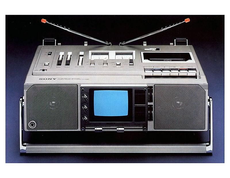 Комбайн Sony FX-414 BE (1979)