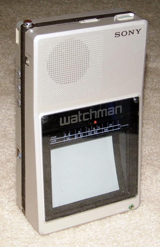 Sony Watchman FD-40a (1985)