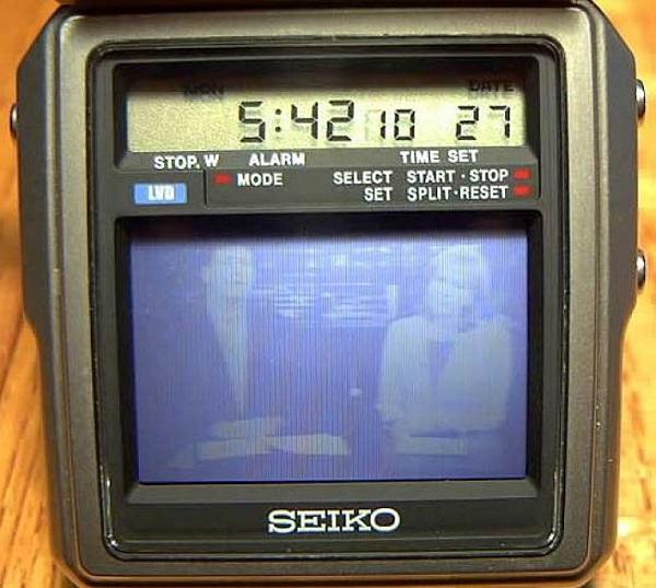 РЕТРО-ТЕХНИКА TV-Watch Seiko
