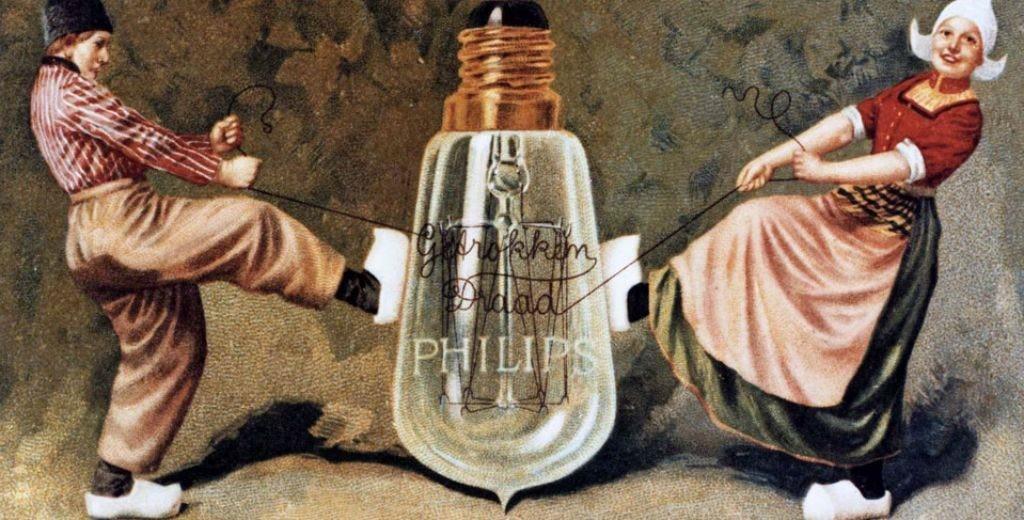 История Philips - все начиналось с лампочки